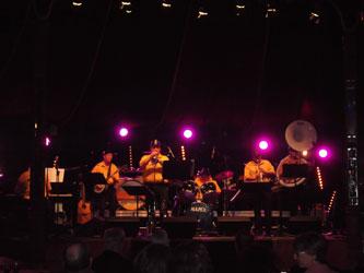 Louisiane And Caux Jazz Band en concert