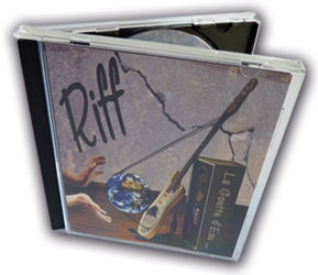 le nouvel album CD du groupe Riff