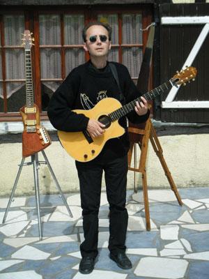 Scie Musicale électrique et Guitare-Cello