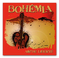 Nouvel album CD Bohémia