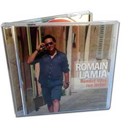 Romain Lamia un nouveau CD